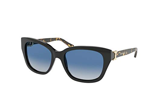 TORY BURCH TY7099 17594L WOMEN SUNGLASSES BLACK/BLUE GRADIENT 56MM