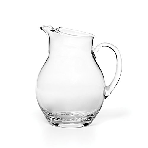 Mikasa Napoli Glass Beverage Pitcher, Clear, 80-Ounce - 5136551