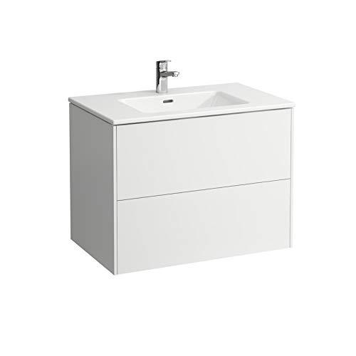 Laufen Pro S Set Base, Waschtisch, 1 Hahnloch, Überlauf, inkl. Waschtischunterschrank, 2 Schubladen, 1000x500mm, Farbe: Multicolor