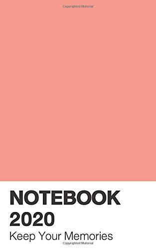 Pantone Notebook 2020: Calendar Peach Pink