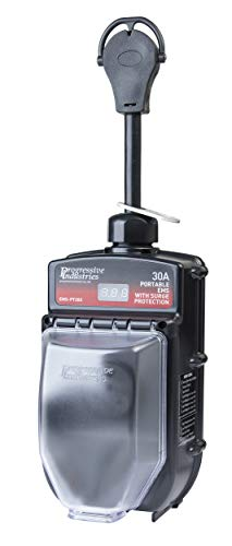 Portable RV Surge Protector Portable EMS-PT30X RV Surge Protector