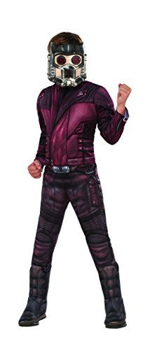 Rubie 's Offizielles Guardians-of-The-Galaxy-Kostüm 2, Starlord, Luxusausgabe, für Kinder