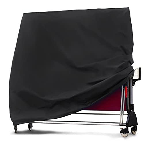 Funda para Muebles Muebles Cubierta de mesa Mesa de ping pong cubierta for el ping-pong de protección interior / exterior impermeable cubierta Negro 165 × 70 × 185cm mesa y sillas jardin terraza