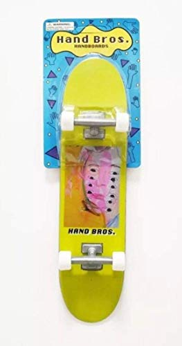 HANDBROS Handboard Skateboard 27cm 10.5 inch Tech Large Finger Board W/Grip