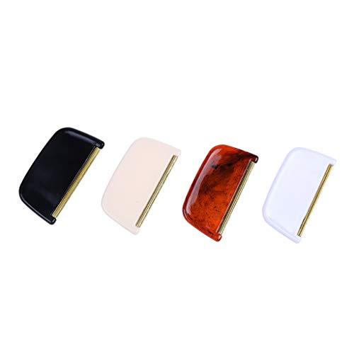 TeasyDay 4PC Fusselentferner, Kleidung Rasierer Epilierer, Pullover Cut Maschine Hair Ball Trimmer, Anwendung: Kleidung, Decken, Bettwäsche, hochwertige Materialien, stabil und langlebig (Black)