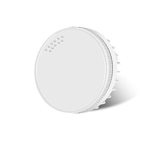 (Paket von 1) Hakkatronics LED GX53 3000K Warmweiß, LED GX53 8W, LED Kabinett Lampen, 230Vac/50Hz, 750lm(Ersetzen Sie 75w Halogenlampen), Milchig Gehäuse, CE RoHS Zertifiziert