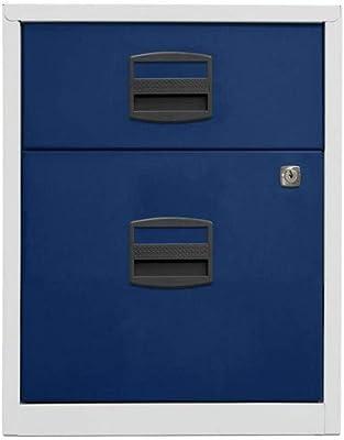 Bisley Home Armoire d'appoint Mobile PFA, 1 tiroir Universel, 1 tiroir HR