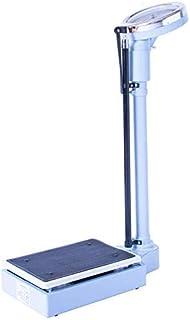 YGB Báscula electrónica de precisión: básculas mecánicas analógicas, básculas de baño de medición de Alta precisión, dial de precisión, Cuerpo de Acero, Capacidad de Carga 150 kg (330 LB)
