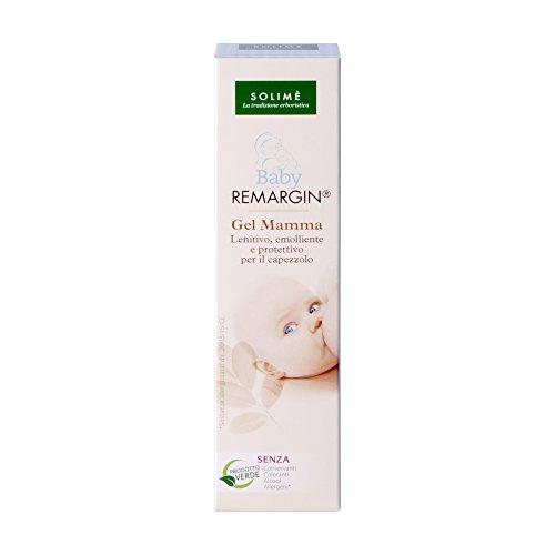 Baby Remargin gel mamma lenitivo per allattamento con Colostro e Miele 30 ml - Prodotto erboristico made in Italy