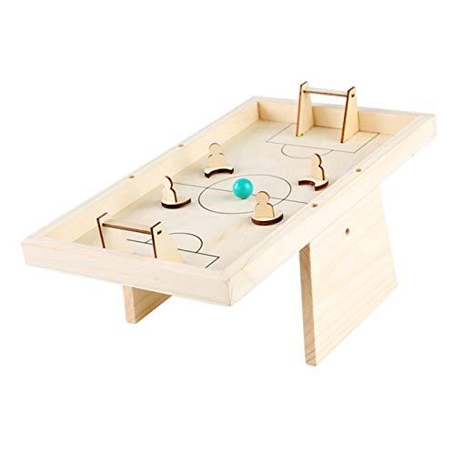 Mini Mesa De Futbolín Juegos, Mesa de fútbol de madera Juguete interactivo...