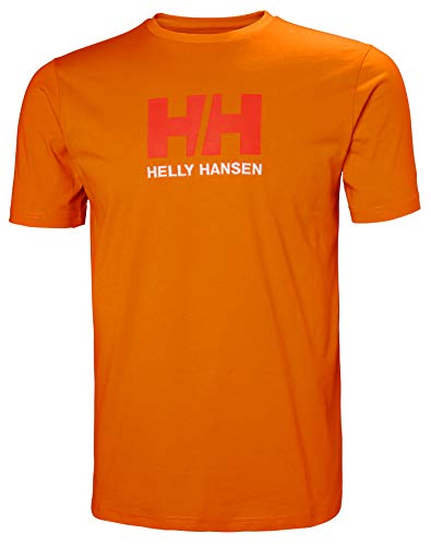 Helly Hansen HH Logo Tshirt Homme - Orange (Naranja 282) - Small