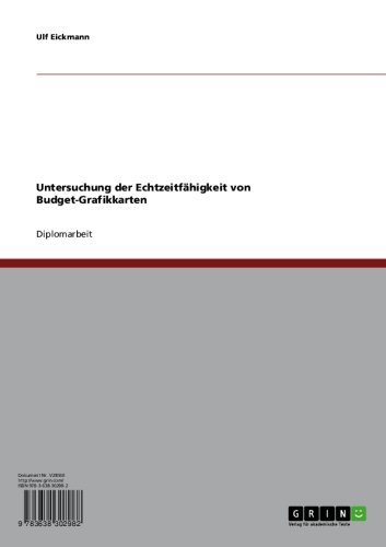 Untersuchung der Echtzeitfähigkeit von Budget-Grafikkarten