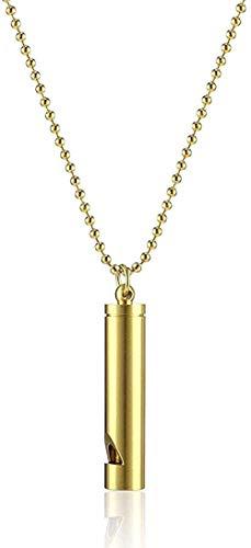 N-G Necklace Necklace Treble Survival Equipment Pendant Titanium Steel Hip Hop Bounce Tide Men and Women Decorative Accessories