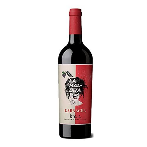 Vino Tinto La Maldita de 75 cl - D.O. La Rioja - Bodegas La Maldita (Pack de 1 botella)