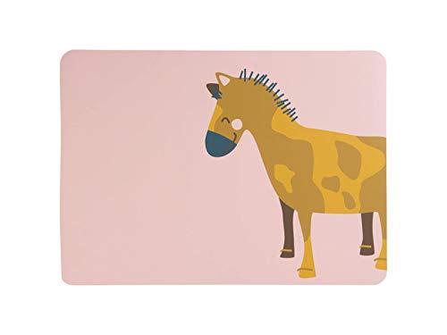ASA Kids Tischset, Western Horse Wiebke 46 x 33 cm, Lederoptik