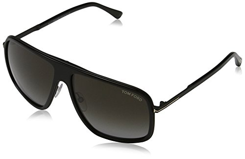 Tom Ford FT0463 6002R Sonnenbrille FT0463 6002R Aviator Sonnenbrille 62, Schwarz
