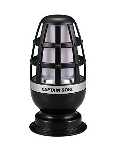 キャプテンスタッグ(CAPTAIN STAG) ランタン ライト LED かがり火 【 明るさ15-30ルーメン / 点灯時間6-10時間 】 ブラック UK-4060