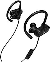 Bluetooth Headphones, SEEGLOW Wireless Earbuds Waterproof Sport Earphones with HD Stereo, Sweatproof, Noise Cancellation, Secure Fit, Above 13 Hours Playback Noise Cancelling Headsets
