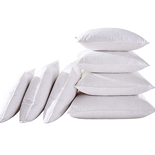 BeAUZQ Almohadas de Plumas de Ganso, Paquete de 1 Pieza Premium, Almohadas hipoalergénicas de Forma Cuadrada, Fundas, para sofá, sofá Cama, cojín,45 * 45cm
