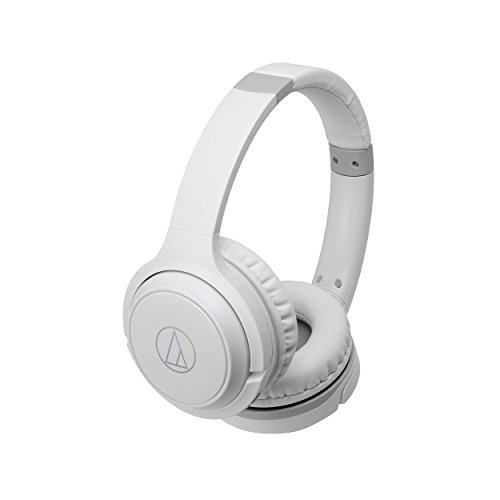 Auriculares AUDIO-TECHNICA ATH-S200BT Color Blanco, Bluetooth, Plegables
