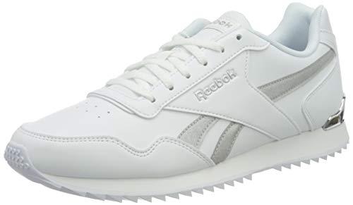 Reebok Royal Glide RPLCLP, Zapatillas Mujer, Blanco/Plamet/Blanco, 38 EU