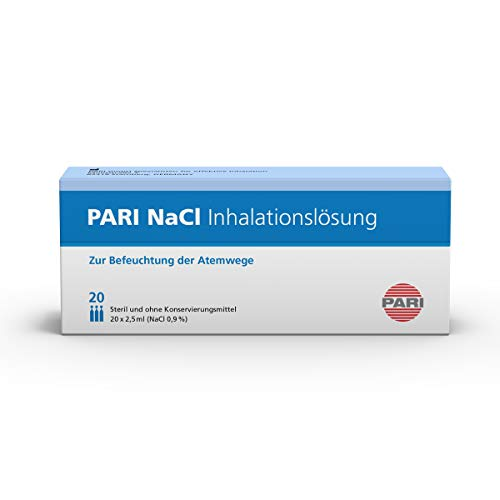 Pari NaCI Inhalationslösung 077G0000, 20 Ampullen