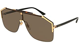 Gucci gg0291s-002 99 gold black brown oro