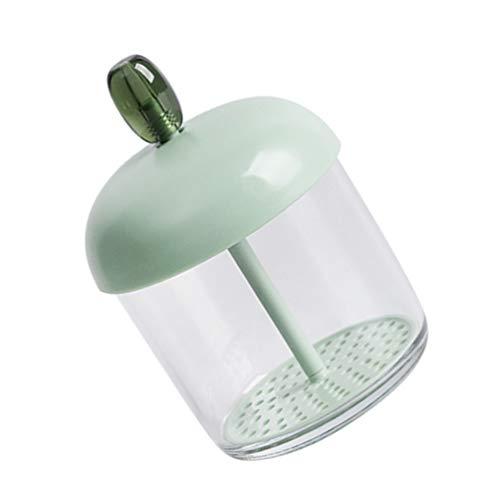 Healifty Gesichtsreiniger Schaumbildner Bubble Maker Schäumer Gesichtshautpflege Reinigungswerkzeug Seife Make-Up Entferner Haut Gerät für Dusche Badezimmer Grün