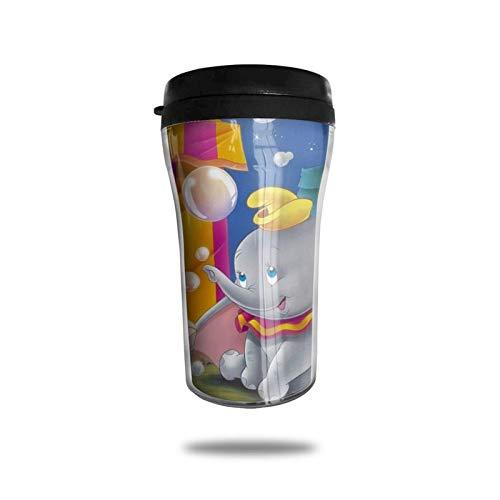 Taza de café, diseño de campanilla y hada, de acero inoxidable, reutilizable, doble pared, para mujeres, hombres, niños y niñas