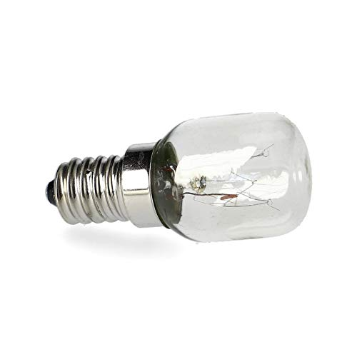 LUTH Premium Profi Parts Lampe Glühbirne Licht Kühlschrank 15 W Gewinde E14 230V universal