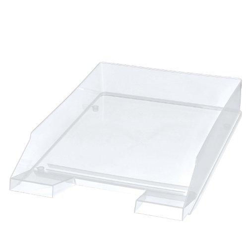Herlitz 5 x Briefablage C4 Hochglanz transparent