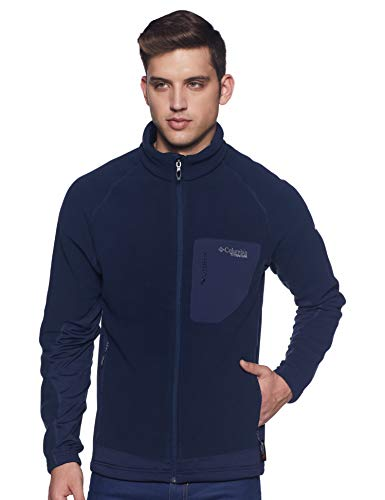 Columbia Men's Track Jacket (Collegiate Navy Blue , XL )