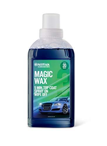 Nilfisk Magic Wax Cera líquida para Coche, para Uso con hidrolimpiadora (500 ml)