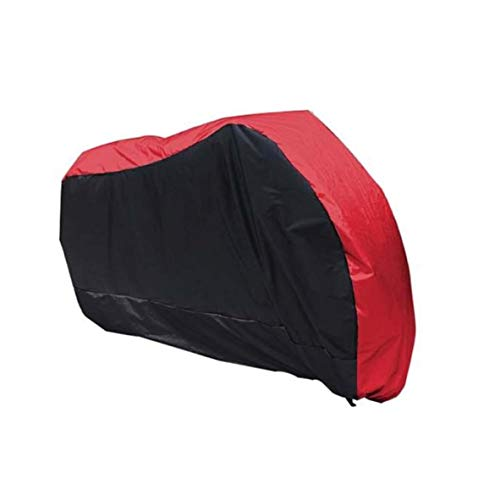 Fundas para motos Cubierta completa de la motocicleta compatible con la cubierta de la moto Caballo de la India Caballo oscuro, Campana de motocicleta duradera impermeable a prueba de agua, 6