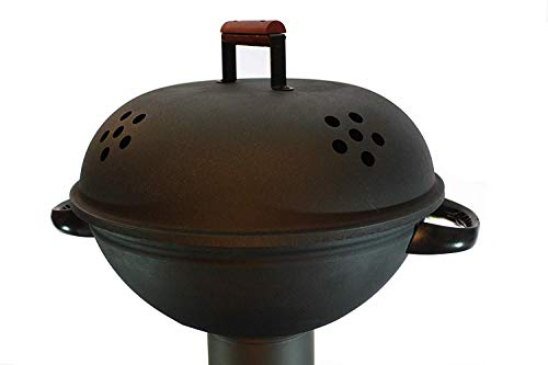 Q-Stove QBQ Barbecue Grill Smoker Accessory for The Q Flame Q05 Patio Heater, Black