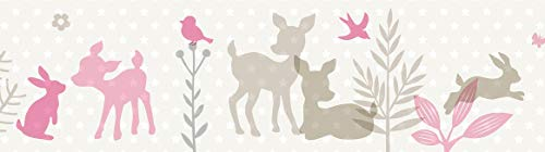 Papel Pintado Infantil Animales Marca lovely label