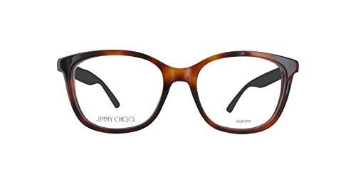 JIMMY CHOO JC188 Jimmy Choo Brillengestelle Jc188-Ocy-52 Damen Rechteckig Brillengestelle 52, Braun