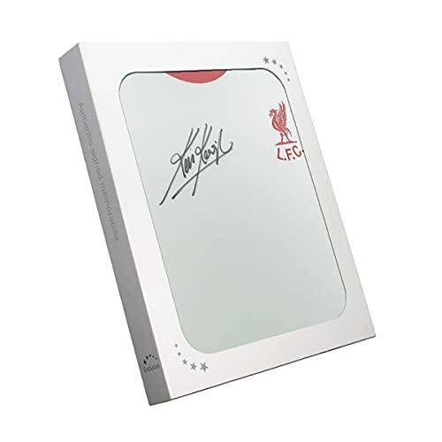exclusivememorabilia.com Camiseta de visitante del Liverpool firmada por Kevin Keegan. En Caja de Regalo