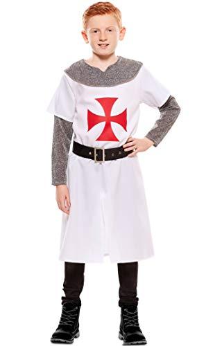 EUROCARNAVALES Disfraz de Caballero Templario para nio
