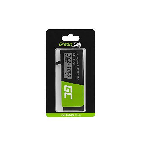Green Cell Batteria interna del telefono compatibile con iPhone 6 | Li-Polymer | 1810 mAh 3.82 V | Batteria di ricambio per smartphone | Batteria di marca | Alta qualità