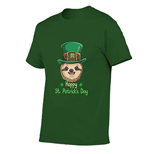3D Kreativ Männer T-Shirts3D MusterTee Slim Fit T-Shirt Motiv Tops T-Shirt T-Stücke Army Green 6XL