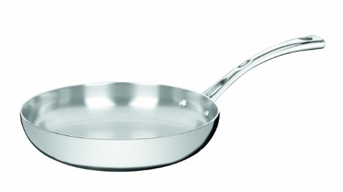 Cuisinart FCT22-24F French Classic Tri-Ply Stainless 10-Inch French Skillet