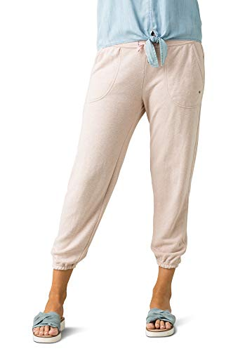 prAna Womens Cozy Up Ankle Pant, Champagne Heather, Small