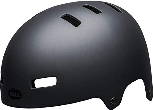 Bell Unisex– Erwachsene Local Fahrradhelm BMX/Skate, Matte Gray, M | 55-59cm