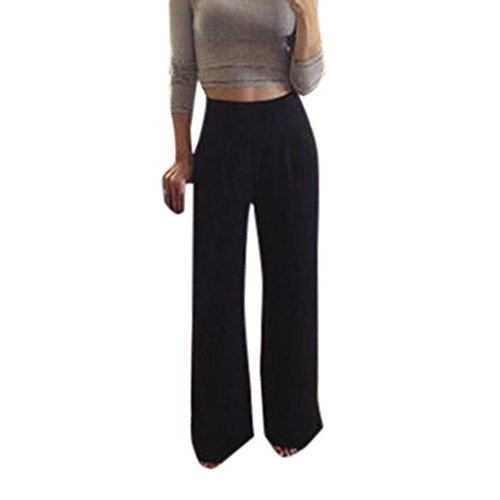 MORCHAN ❤ Taille Sexy Pantalons Jambes Larges Femmes...