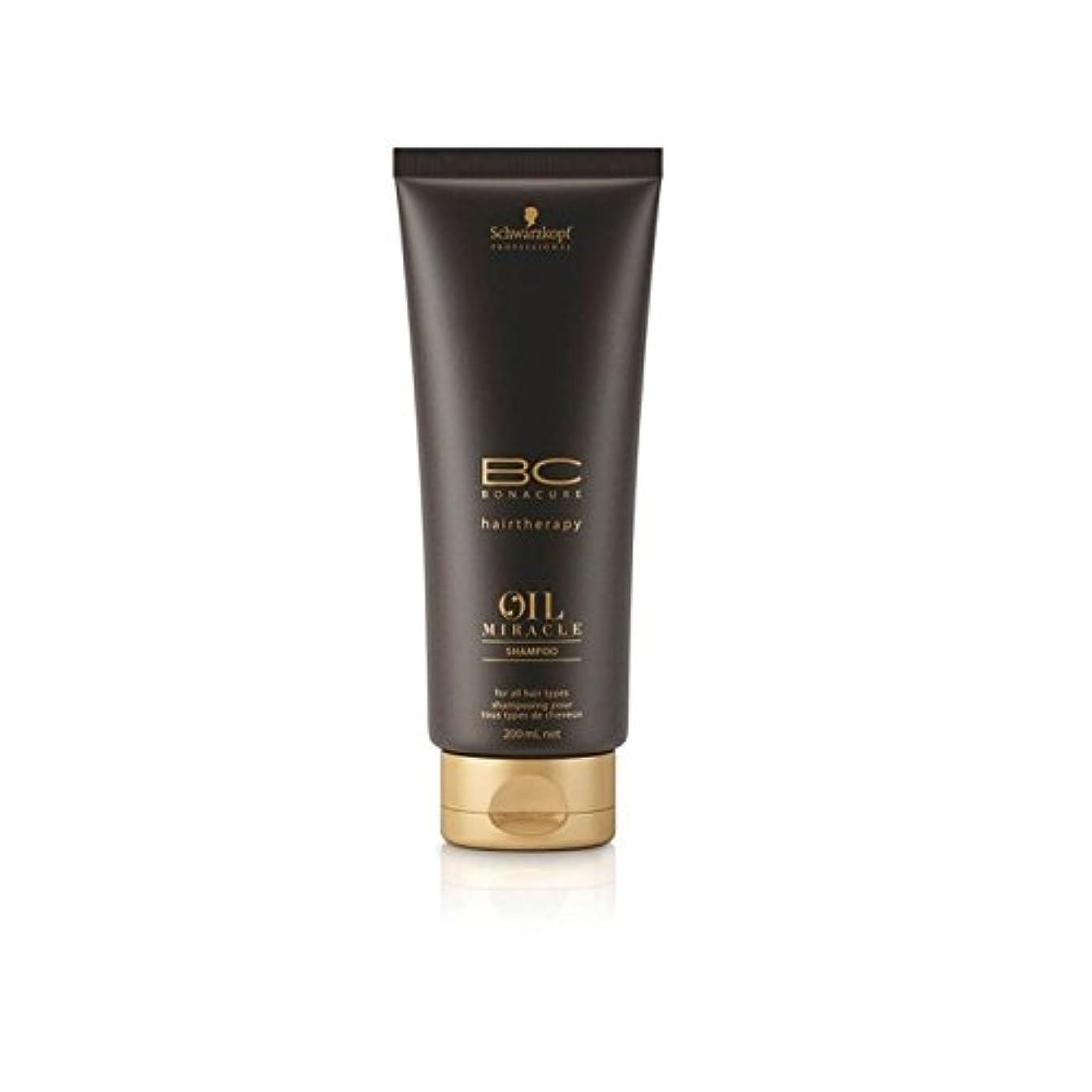 一部華氏講堂Schwarzkopf Bc Oil Miracle Shampoo (200ml) (Pack of 6) - オイルの奇跡シャンプーシュワルツコフ(200ミリリットル) x6 [並行輸入品]