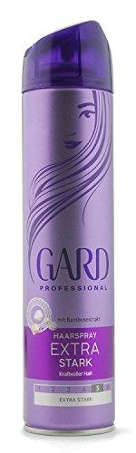 GARD Haarspray Extra starker Halt mit Bambusextrakt,250ml