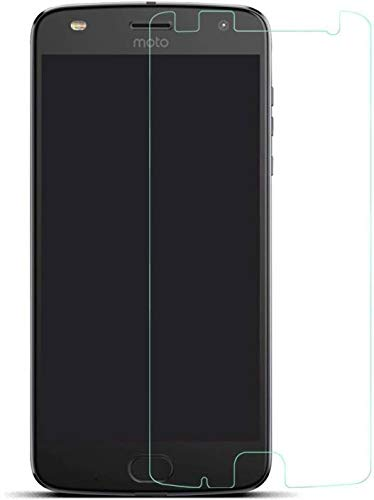 SHEEL GROW ™ Tempered Glass Screen Protector Guard (Front) with 100% Optical Resolution, Hammerproof Scratch Resistant for Motorola Moto Z2 Play (Trink Glass) Comes with Installation kit.(Pack of 1)