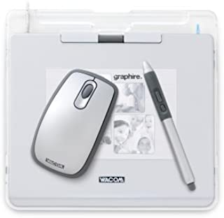 Wacom Graphire4 4x5 USB Tablet (Silver)