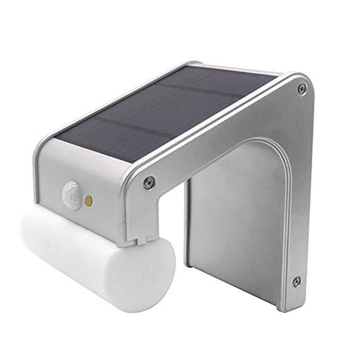 TCpick Altavoz Bluetooth De Luz Solar, Excelente Sonido Envolvente De Graves Calidad De Sonido Inducción Inteligente Energía De Luz LED Carga IP65 Impermeable